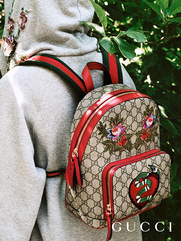 df357bc2c95d Discover more gifts from the Gucci Garden. The GG Supreme limited edition  backpack
