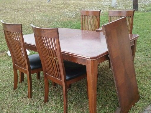 Found Dining Set In Trash Sold For 20 On Offer Up Dining