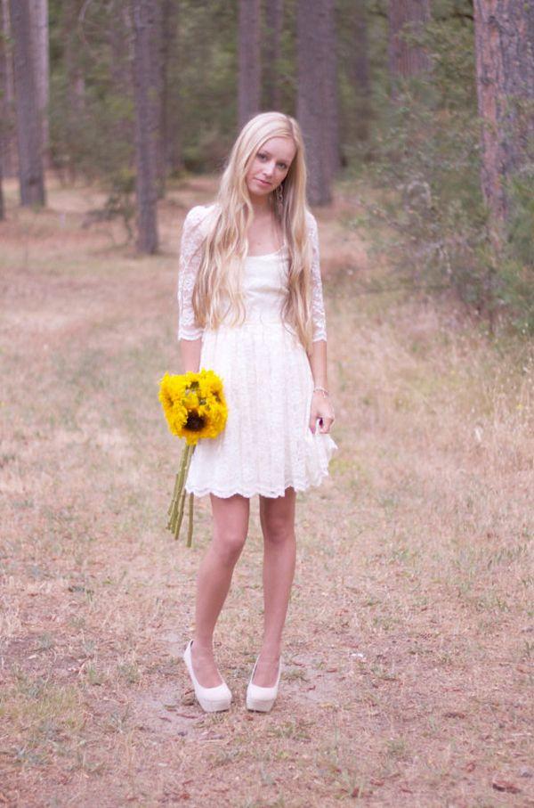Original Vintage and Vintage Inspired 1970s Bohemian Wedding Dresses ...