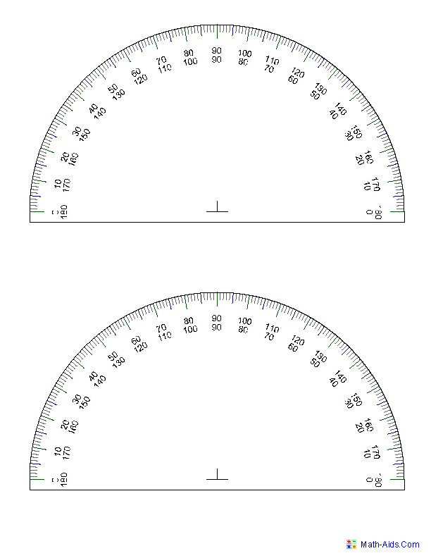 Producing Protractor Images | Math-Geometry | Pinterest | Protractor ...