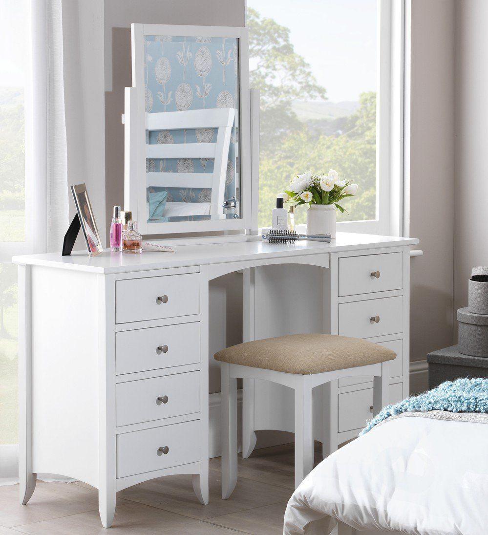 Resultado De Imagen Para Vanity Furniture White Dressing Tablesdrawer