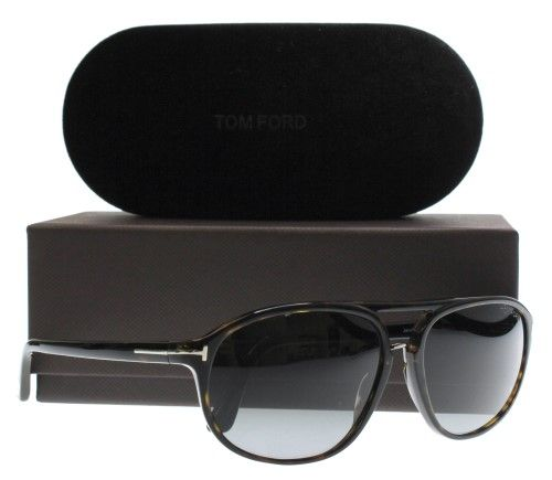 378377b12cc Sunglasses Tom Ford Jacob TF 447 Jacob FT 0447 Jacob 52B dark havana    gradient smoke