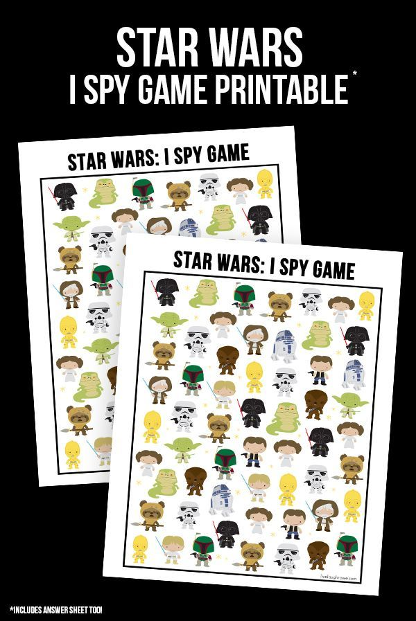 Snatch up this fun and FREE Star Wars Game! I Spy Star Wars ...