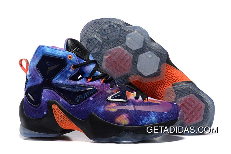Nike Lebron 13 Starry Purple Orange Black Grey For Men