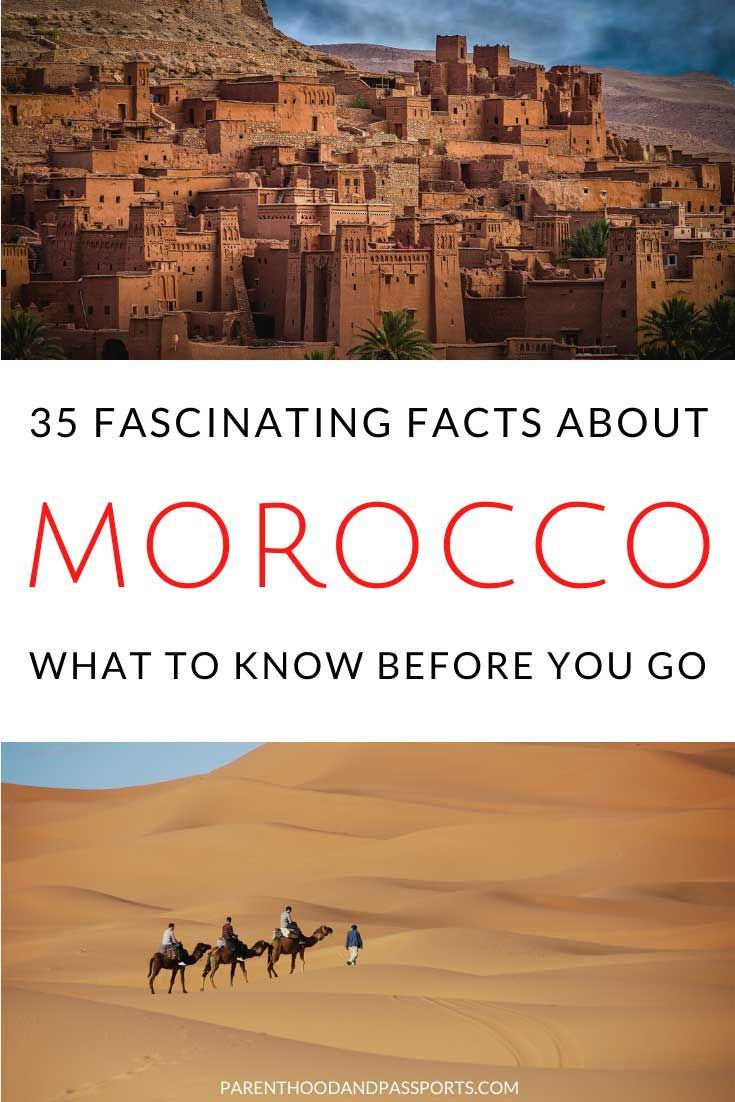 The 35 most interesting facts about Morocco