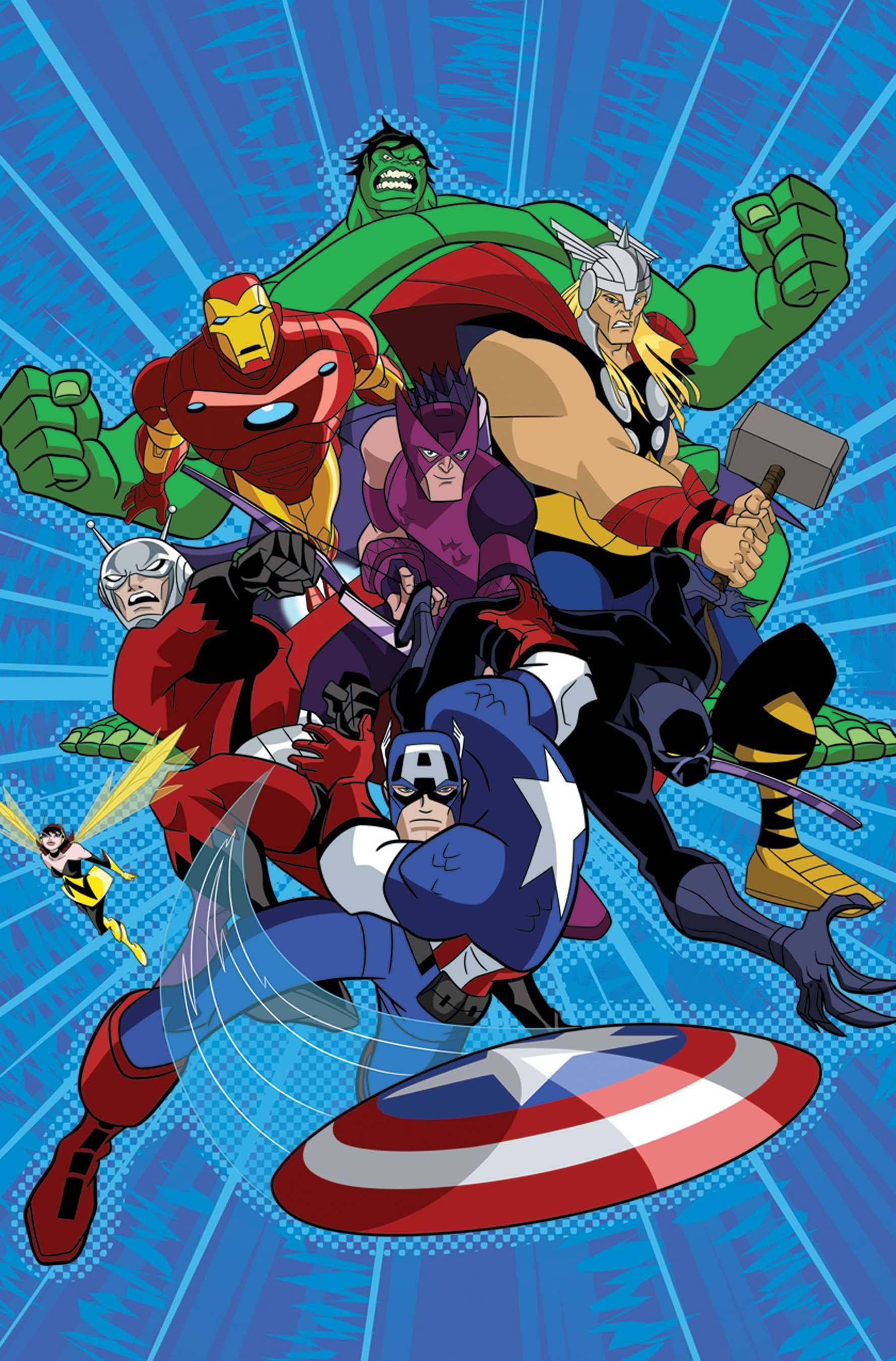 earth mightiest heroes  avengers