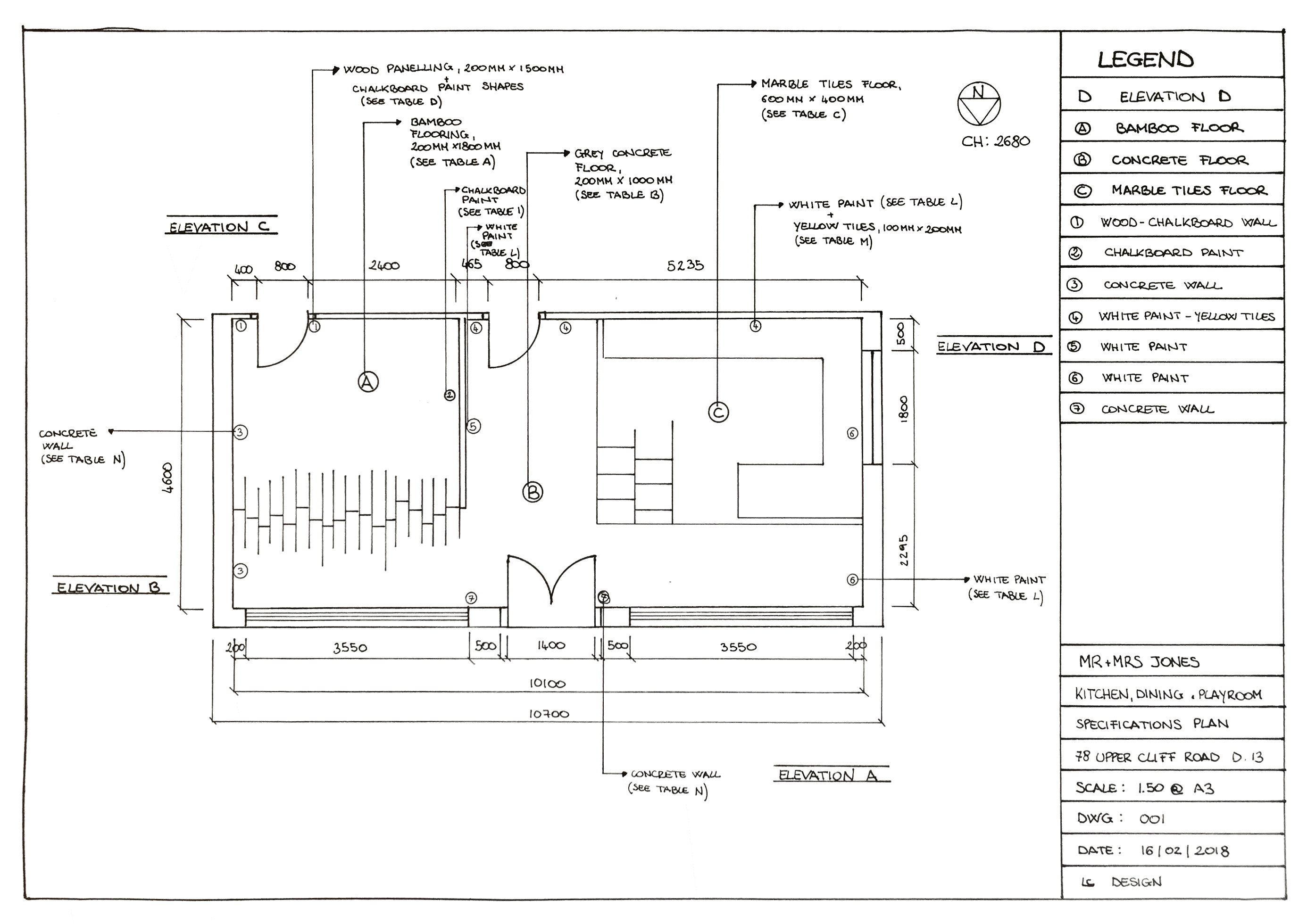 Specification plan technical drawings interior design architecture materials also rh in pinterest