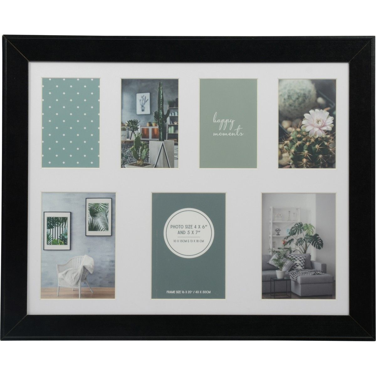 Design House 16 X 20 Inch M3 Photoframe Black Big W House Design Photo Frame Wall Display