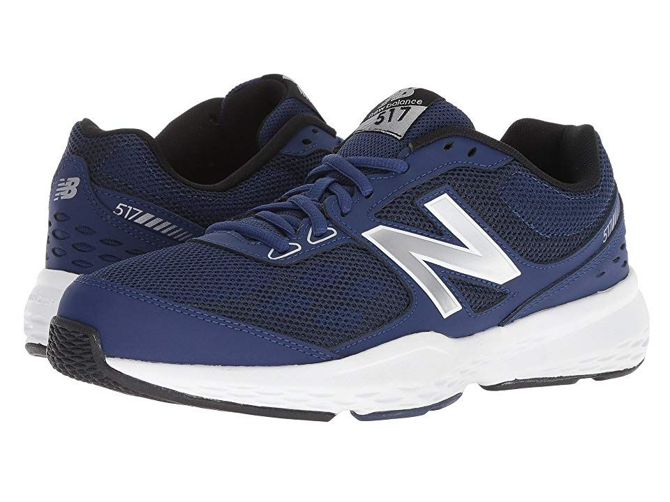 New Balance Mx517v1 Blue Silver Men S Cross Training Shoes Take Comfort In Your Daily Activities With The Cross Training Shoes Mens Sneakers Sneakers Online