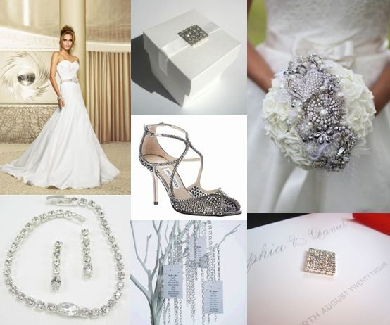 Diamond Wedding Theme Ideas Moody Monday The Wedding Community