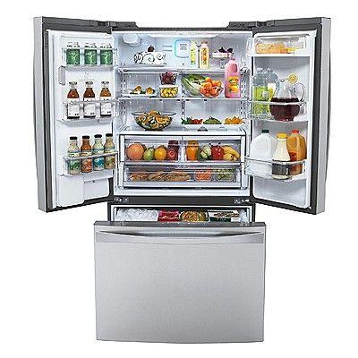Kenmore Elite 25 C Ft French Door Counter Depth Bottom Freezer