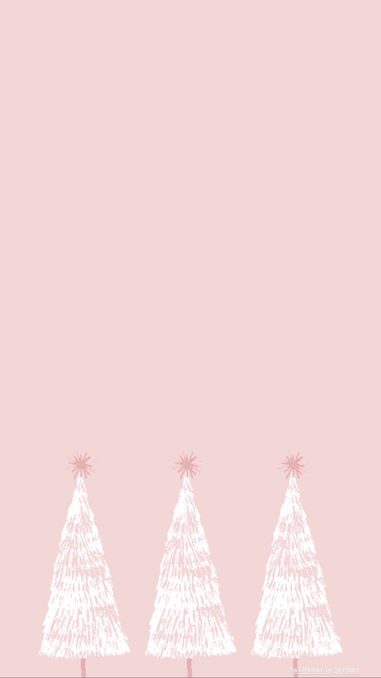 pink christmas tree wallpaper wallpaper iphone christmas cute christmas wallpaper christmas phone wallpaper pink christmas tree wallpaper