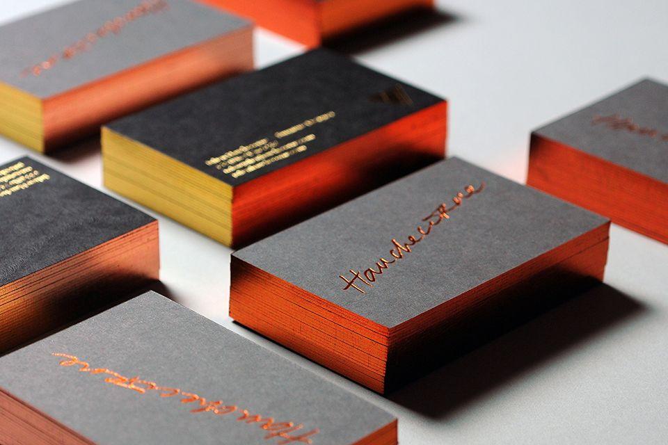 Jh Metallic Business Card2 Cool Stuff Pinterest Business