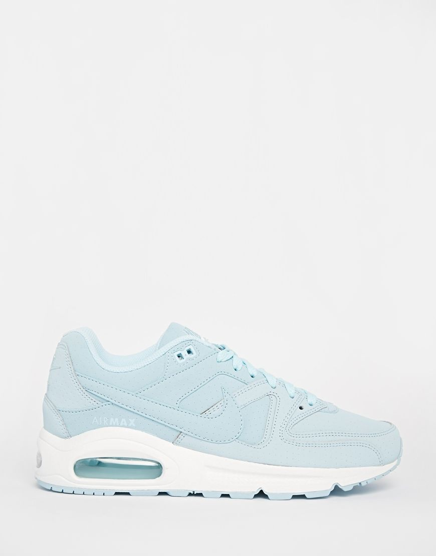 reputable site 66462 4f3fb Image 2 of Nike Air Max Command Ice Blue Trainers