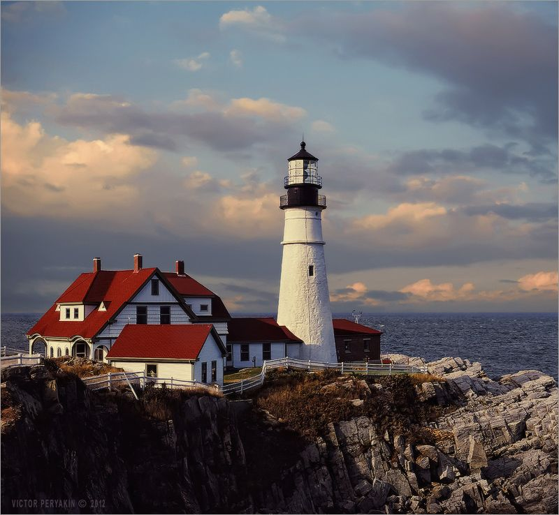 Lighthouse in Portland