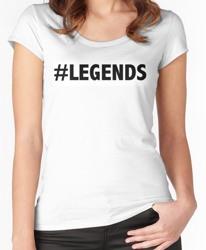 7b7137270e1a8 LEGENDS - Norris Nuts Merch Women's Fitted Scoop T-Shirt | Products ...