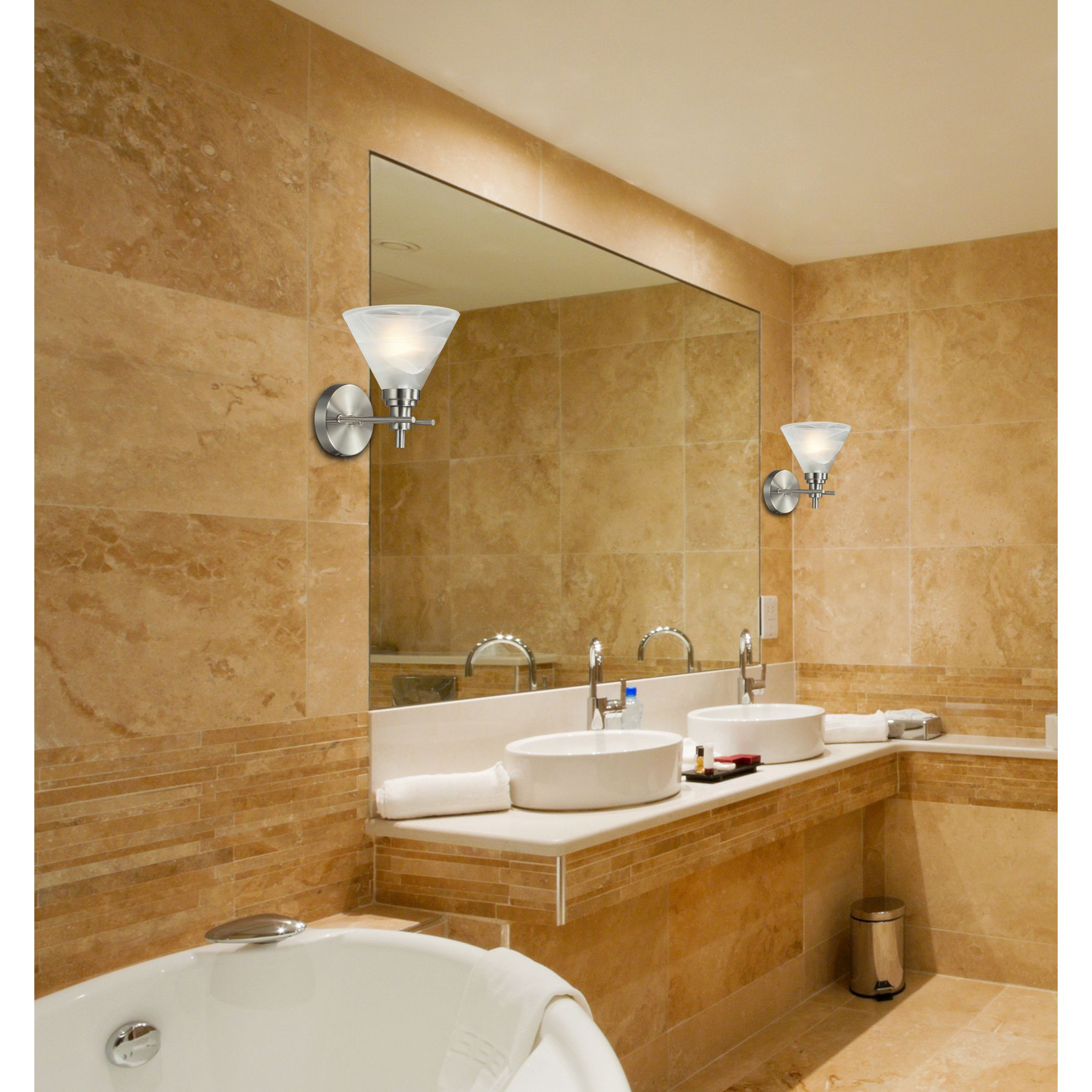Pemberton 1-Light Bath in Brushed Nickel | Elk Lighting | Pinterest ...