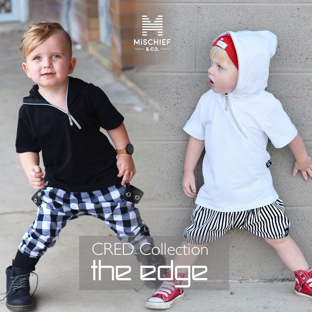 7de6d05a030 The Edge - Zip Hoodie Tee - Kids Tee