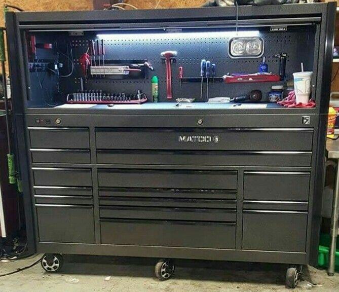 Matco Tool Box Matco Tool Box Tool Box Diy Mechanic Tool Box