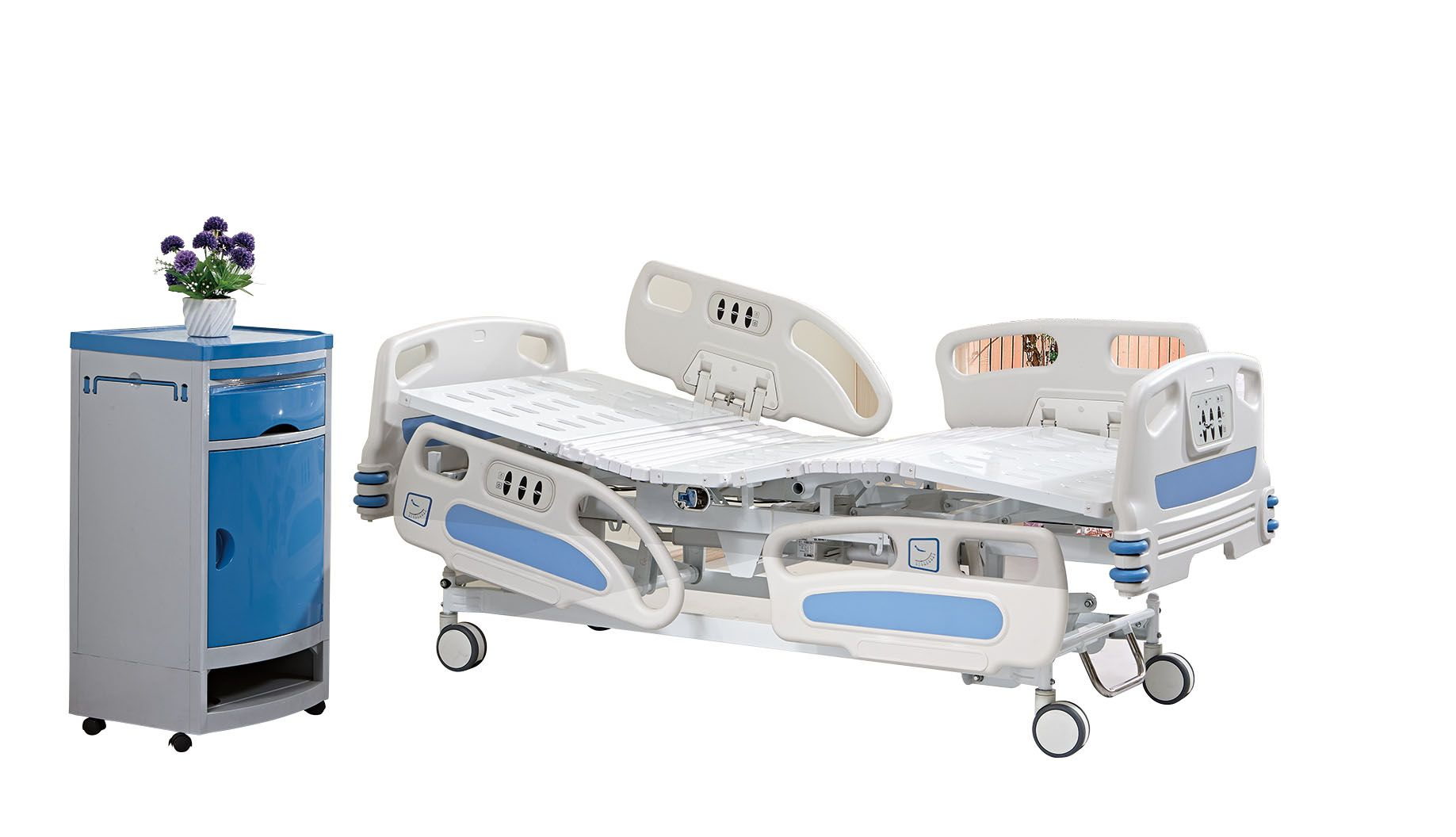 Three functions electric hospital beds for sale. 1. 5