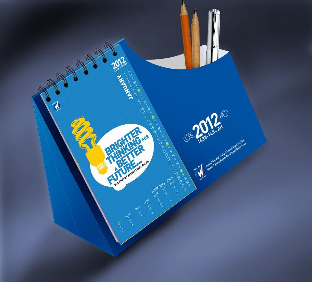 Table Top Calendar Designs Calendar Design Desktop Calendar