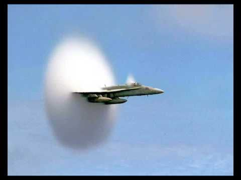 Sonic Boom explanation. It's a visual & auditory effect ...