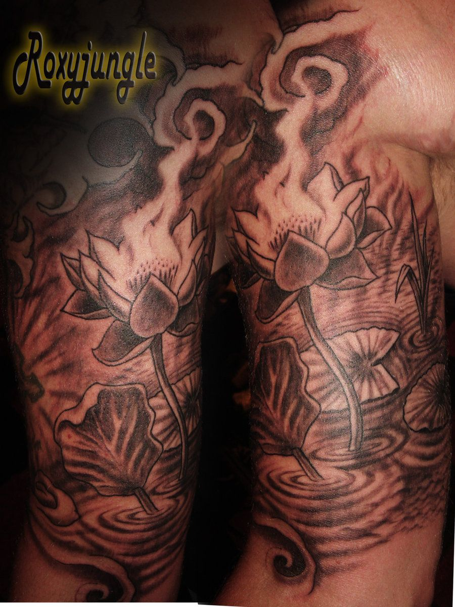 Lotus Flower Tattoo By Karolyi On Deviantart Lotus Tattoos Men