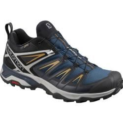 Photo of Salomon men's lightweight hiking shoes X Ultra 3 Gtx, size 44 in blue SalomonSalomon