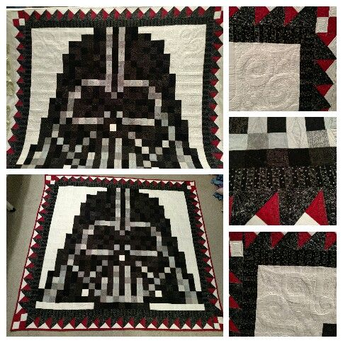 My Darth Vader Quilt Quilts Ive Made Pinterest