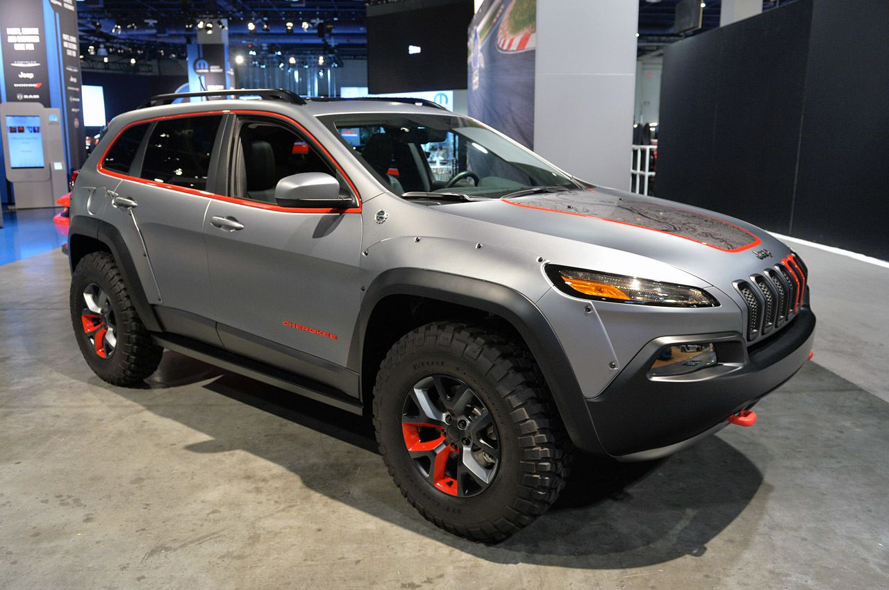 Jeep Cherokee Dakar With Satin Steel Finish And 33 Mud Tires