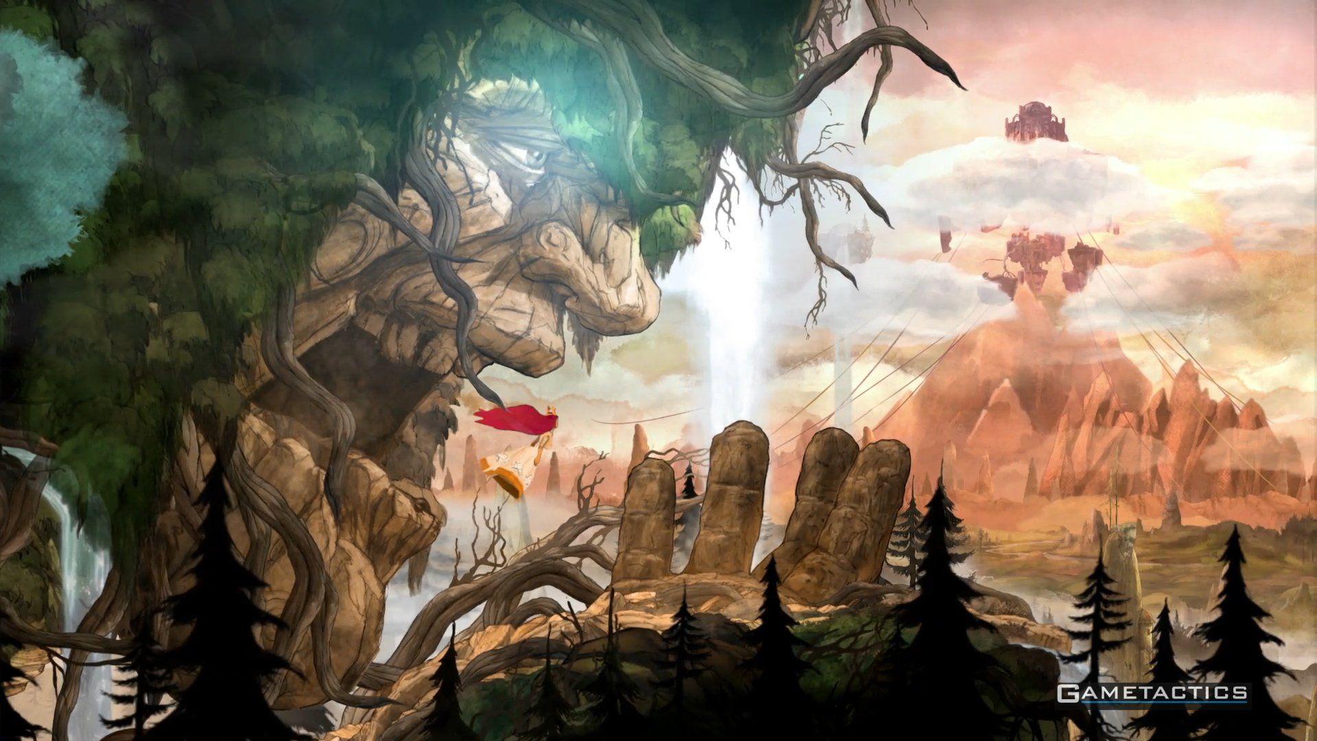 Video Game Child Of Light Child Of Light Wallpaper In 2020 Child Of Light Wallpaper Backgrounds Art