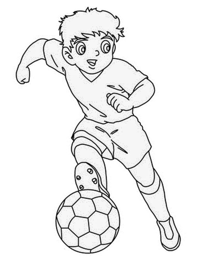 Running While Carrying A Football Coloring Pages For Kids Sk Printable Football And Rugby Color Football Coloring Pages Coloring Pages Sports Coloring Pages