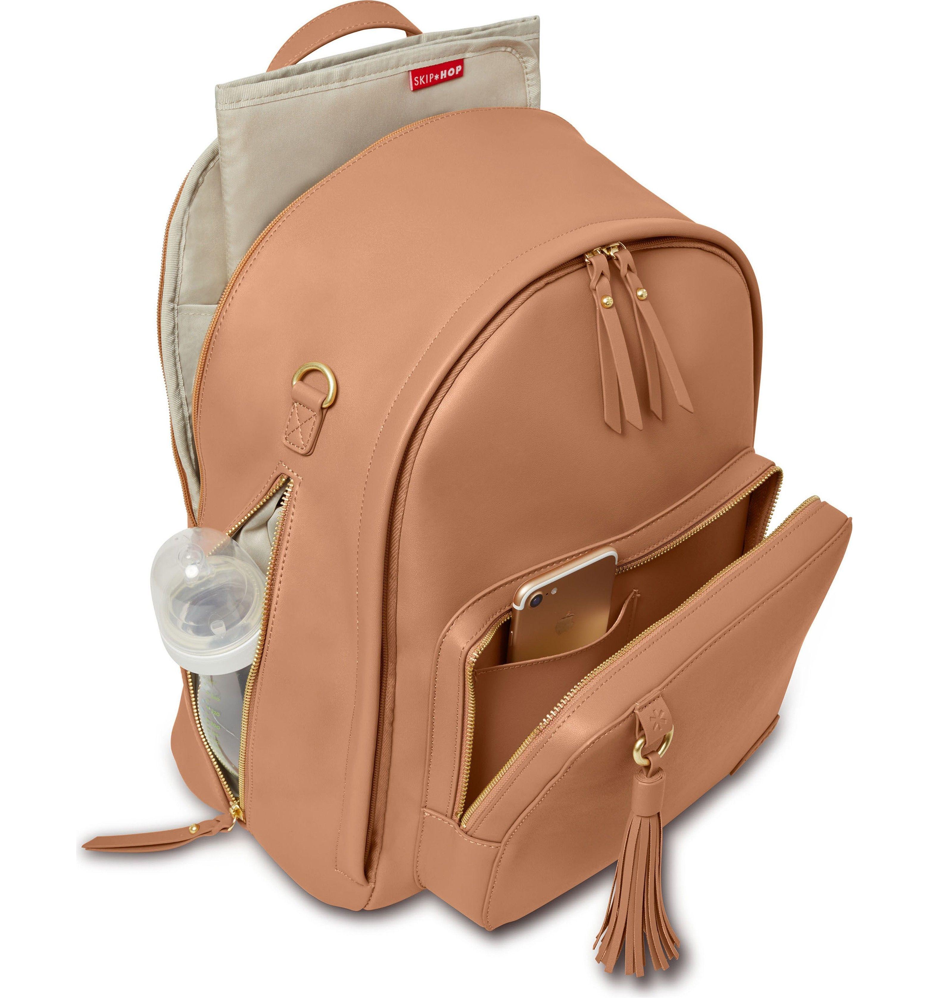 Skip Hop Greenwich Simply Chic Diaper Backpack Com Imagens Bolsas Mochila Bolsas Bolsa Nova