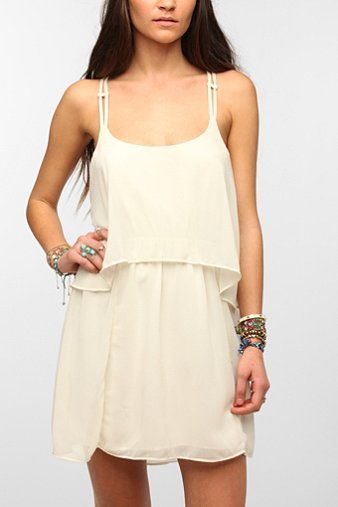 Ecote Double Layer Chiffon Festival Dress