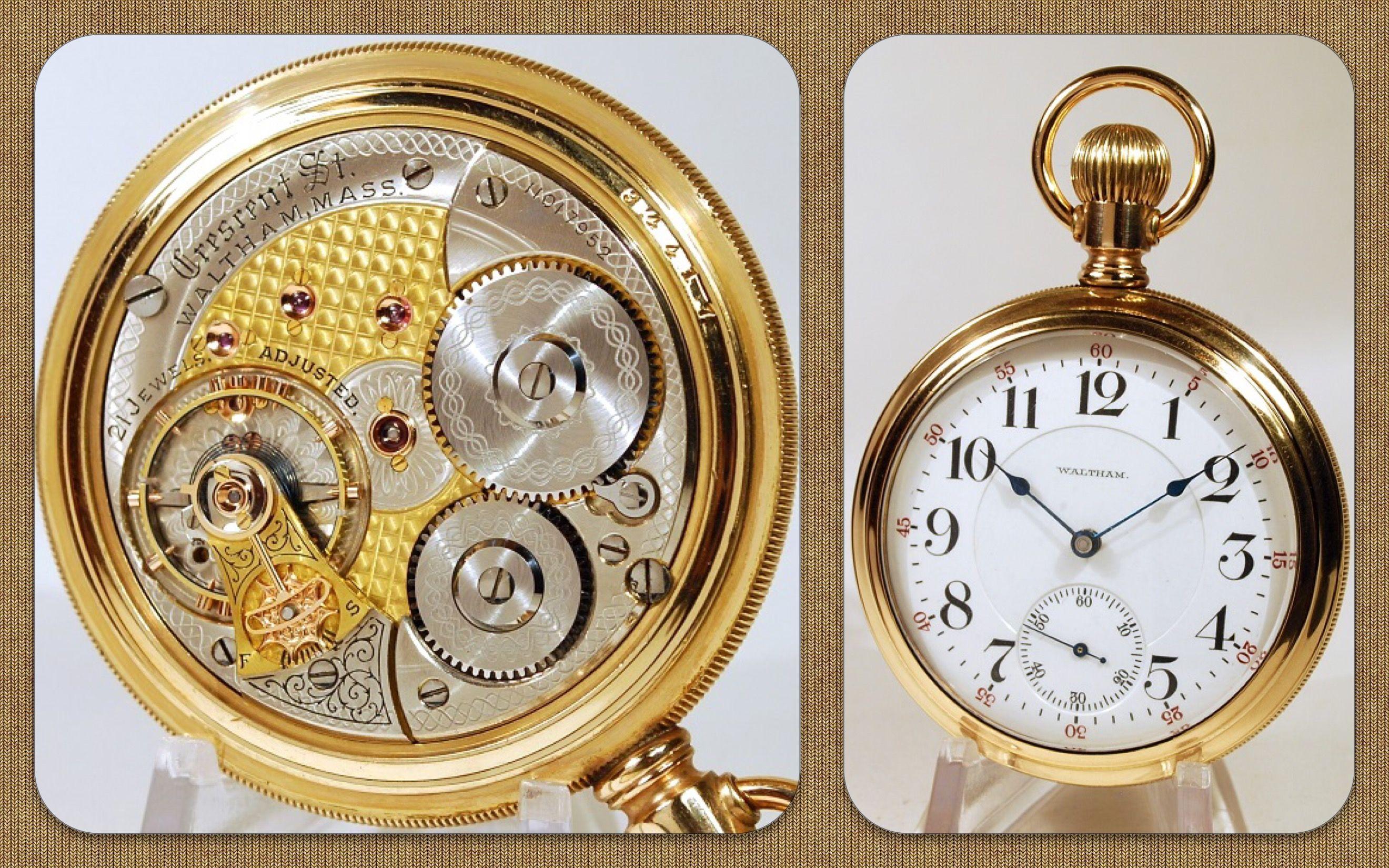 A very nice Tu tone Crescent St. Model 1892! | Reloj de
