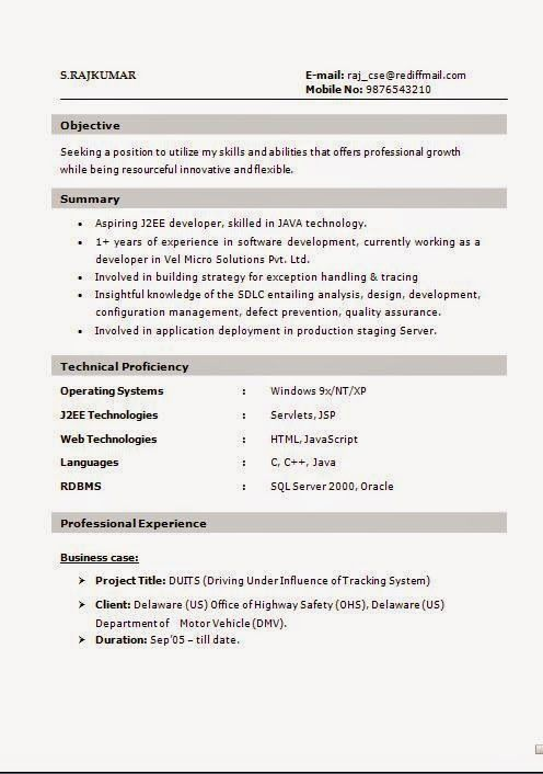 It Resumes Sample Sample Template Example Of Excellentcv  Resume