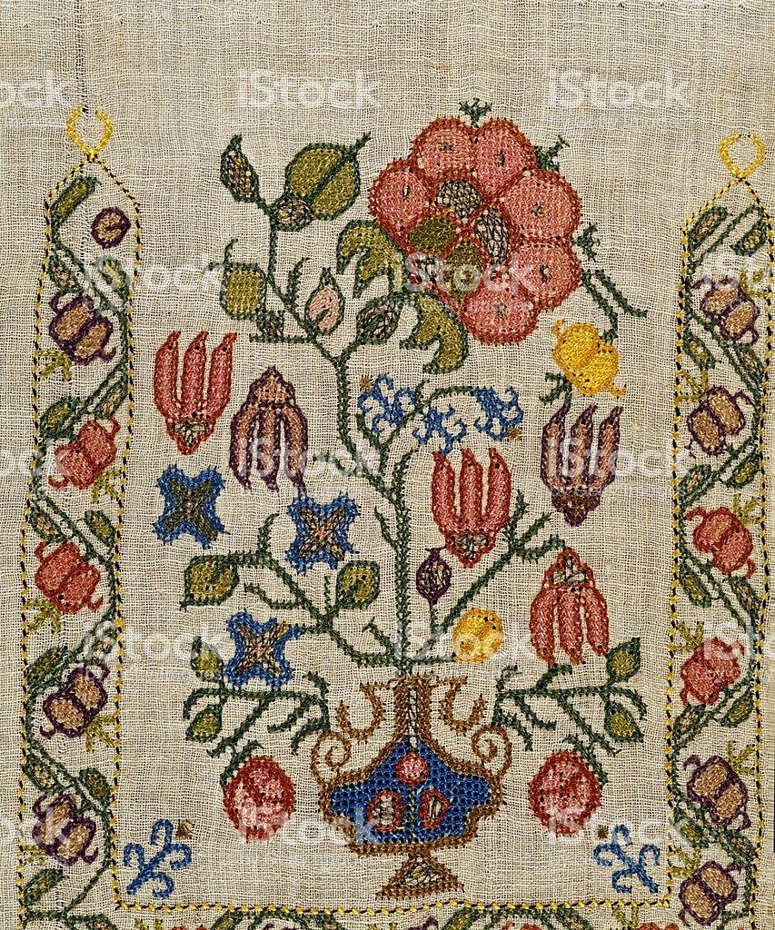 Embroidery (ottoman) royalty-free stock photo