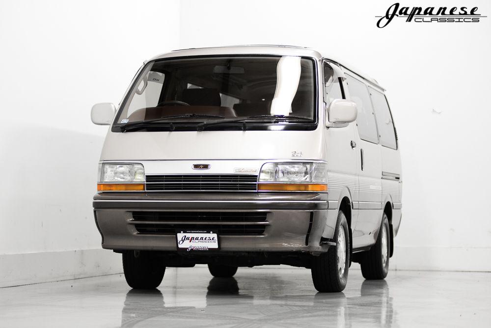 For Sale 1993 Toyota Hiace Super Custom Limited Seller Japaneseclassics Com Toyota Hiace Toyota Nissan Skyline