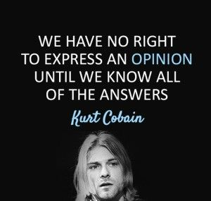 Kurt Cobain Wisdom Quotes Images