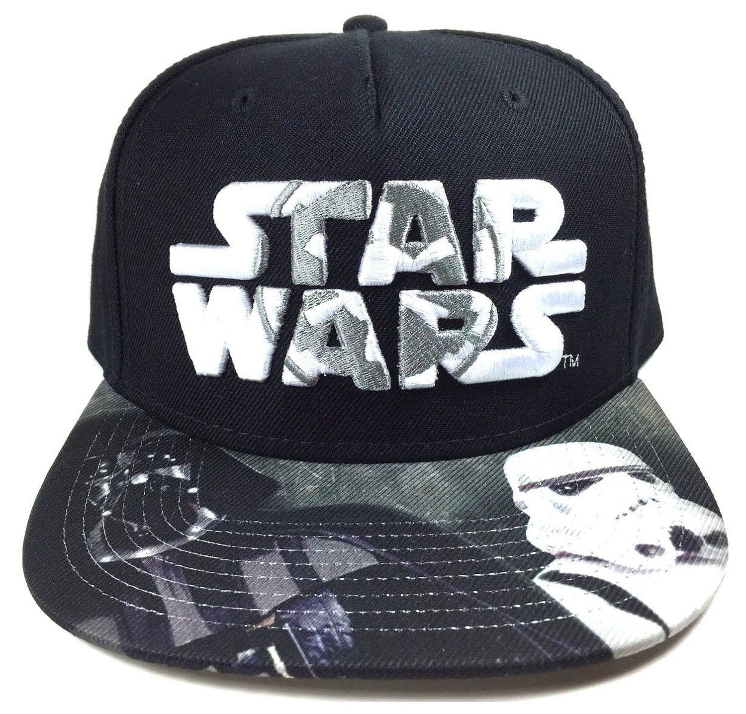 2ead12e8aebb9 AmazonSmile  Star Wars Darth Vader Stormtrooper Galactic Empire Logo  Snapback  Clothing