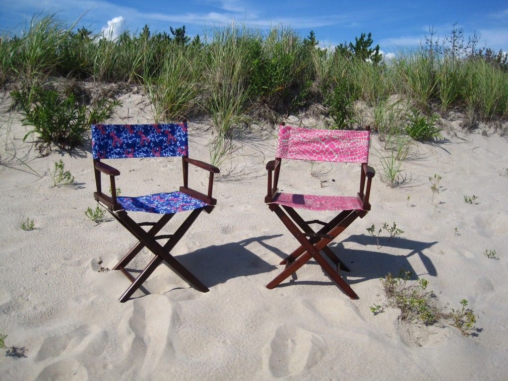 preppy deck chairs!!