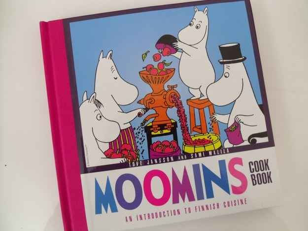 "And even a Moomin cookbook. Published in 2010, it gives an introduction to Finnish forage and forest cuisine, something called ""apple grog"", and even toast."