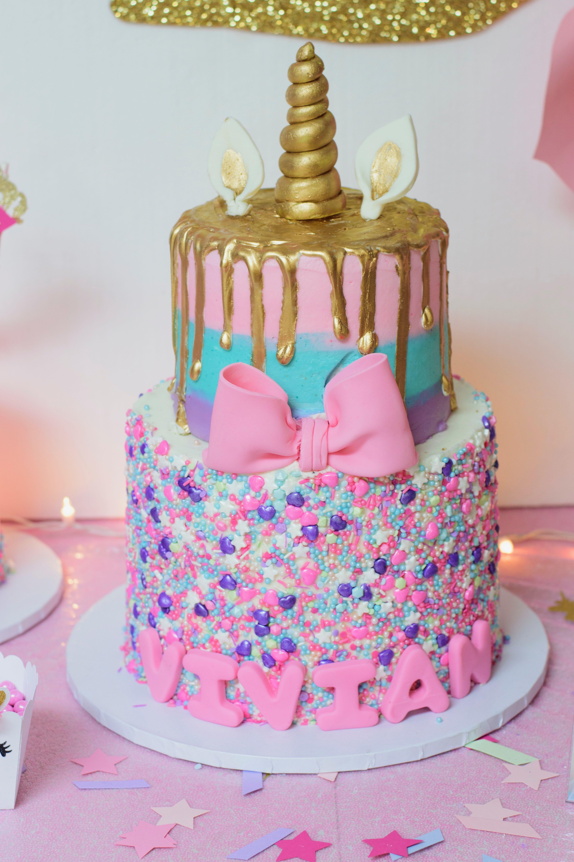 unicorn cake 1stbirthday party