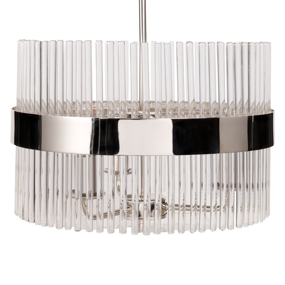 Lustre En Verre Et Metal Eva Ceiling Lights Glass Ceiling