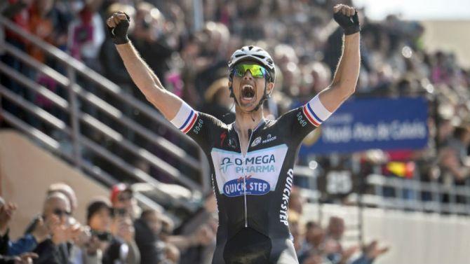 Sluwe Terpstra zegeviert in Parijs-Roubaix