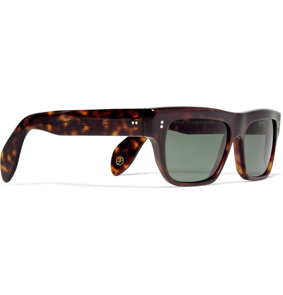 4b1a41f697 Kingsman - Cutler and Gross Tortoiseshell Acetate Square-Frame Sunglasses
