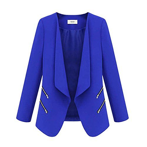 Etosell Women Long Sleeve Slim Casual Solid Suit Blazer Fashion Coat Tops