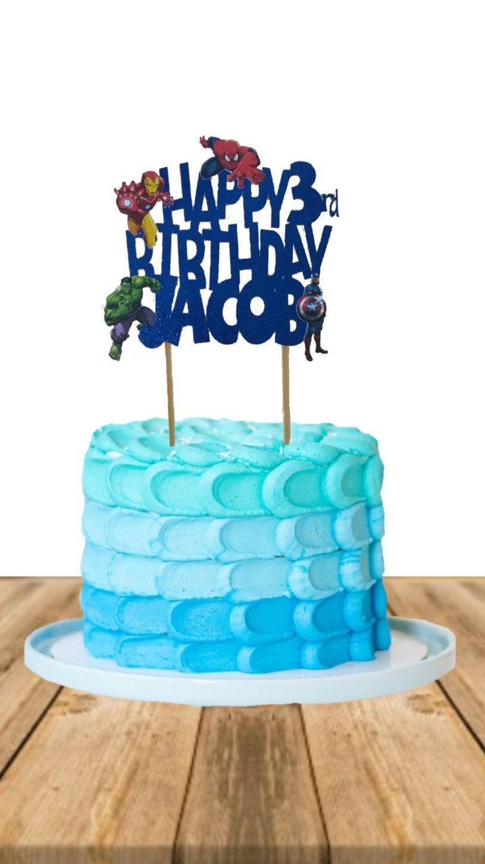 26+ Avengers birthday cake supermarket inspirations