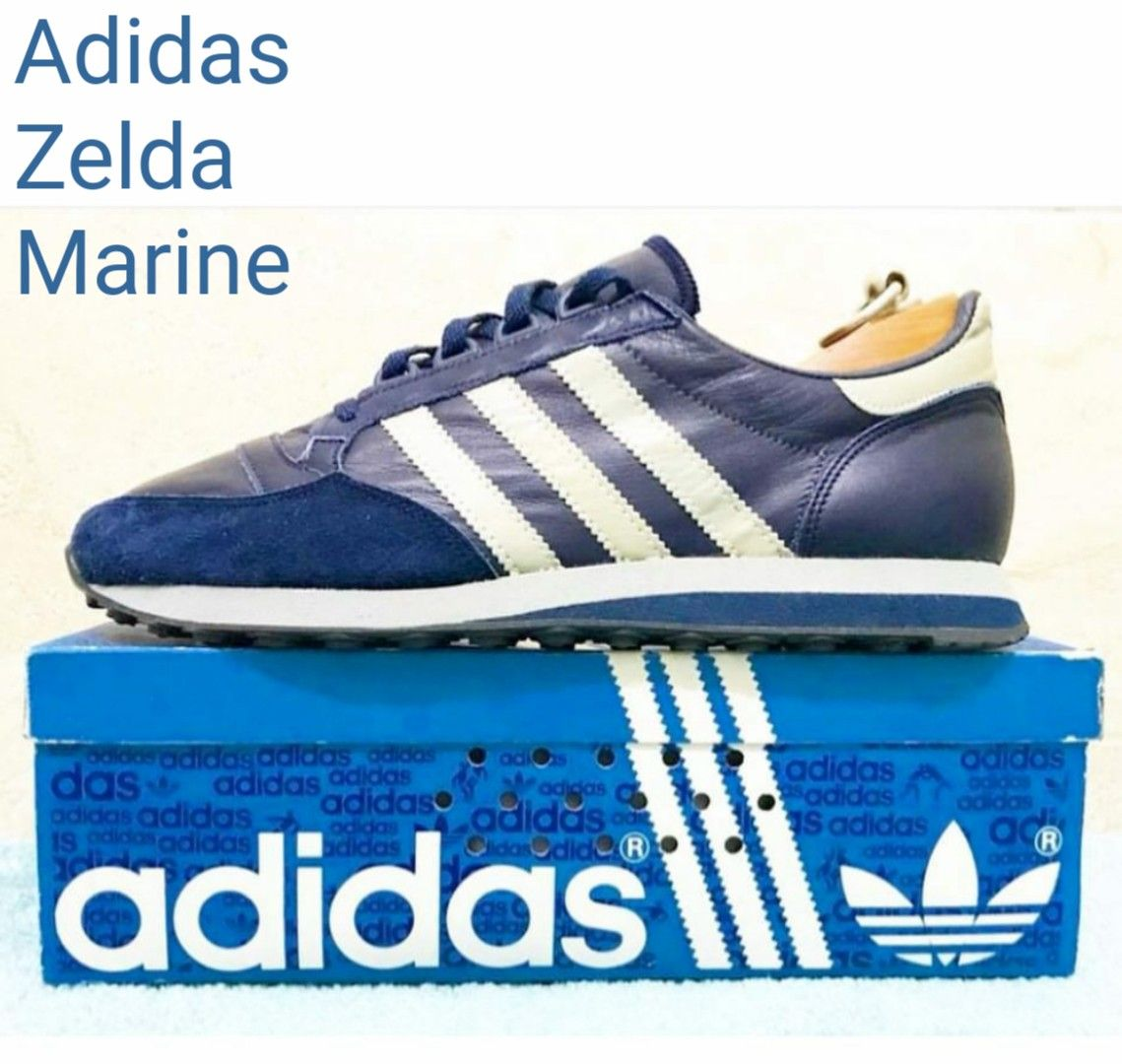 f70edf58e6 Vintage French made Adidas Zelda Marine from 1983 Adidas Og, Adidas Sneakers,  Football Casuals