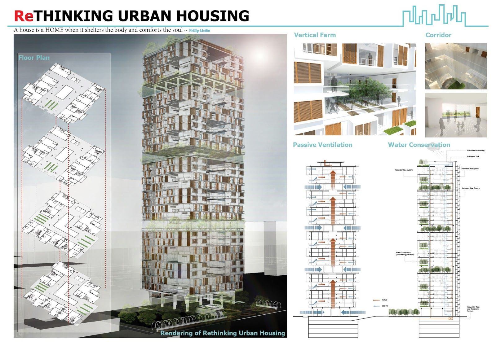 Rethinking urban housing archiprix s e a 2012 architecture for Architectural design concept ppt